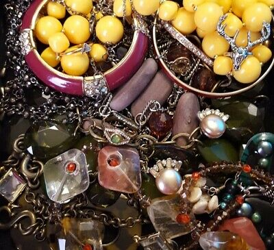 $ CDN25.53 • Buy Vintage Now Unsearched Untested Junk Drawer Jewelry Lot Estate Most Wear L330