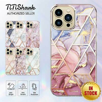 AU9.99 • Buy For IPhone 13 12 11 Pro Min XS Max XR SE Case Clear Marble Shockproof Slim Cover