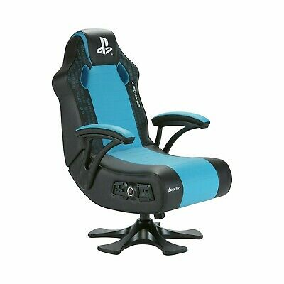 AU256.44 • Buy X-Rocker Legend Officially Licensed PlayStation Gaming Chair - Blue