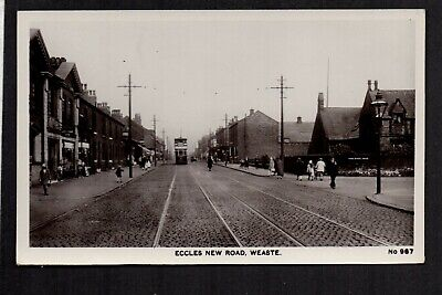 £16.50 • Buy Weaste, Eccles New Road - Salford - Real Photographic Postcard