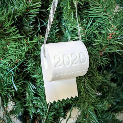 Christmas 2020 TOILET PAPER ROLL Tree Ornament New Decoration Special Kits • 2.97£
