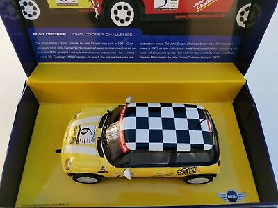 SCALEXTRIC C2485A MINI COOPER JOHN COOPER CHALLENGE No 6 LIMITED EDITION • 32.48£