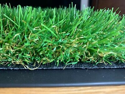 £60 • Buy New Cosmo 35mm Artificial Grass Off Cut Realistic Fake Lawn Astro Turf Garden