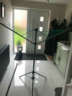 Portable Rotary Washing Line Tripod Caravan Camping Lightweight • 15£