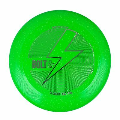 Frisbee Bolt OneSevenFive Ultimate Frisbee Flying Disc! (Green Shimmer) • 12.99£