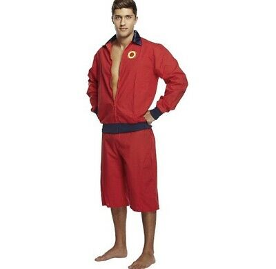£14 • Buy Henbrandt Lifeguard Mens Fancy Dress Costume Stag Do One Size Baywatch