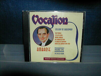 Ambrose - The Decca Years Vol. 5: Lullaby Of Broadway (2002) CD • 6.99£