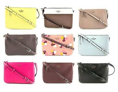 $ CDN125.93 • Buy Kate Spade Jackson Leather Triple Gusset Crossbody Handbag Purse
