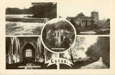 £8 • Buy Real Photographic Multiview Postcard Of Caton, (near Lancaster), Lancashire