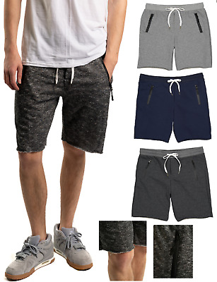 $9.99 • Buy Men's Sweat Shorts Soft Casual Cotton French Terry Fleece Lounge Gym Workout USA