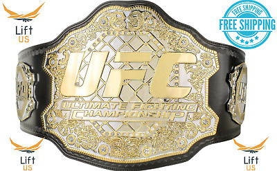 $129.99 • Buy UFC ULTIMATE FIGHTING CHAMPIONSHIP TITLE REPLICA BELT 2MM Brass Dual Plate Adult