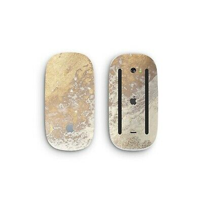 MARBLE GOLD STONE Skin For Apple Magic Mouse 1 2 Wrap Cover Decals Stickers Grip • 7.95£