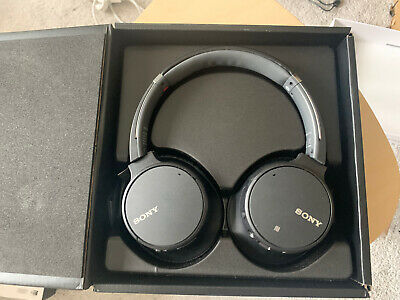 Sony WH-CH700N Over The Ear Bluetooth Headphones - Black. MINT CONDITION • 50£