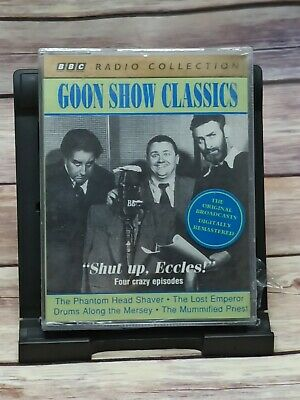 GOON SHOW CLASSICS -  SHUT UP, ECCLES!  Audiobook Cassette Tapes - NEW & Sealed • 7.90£