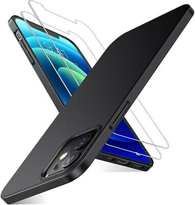 For Apple IPhone 12 Mini/Pro/Max Case Slim Gel Cover - & Glass Screen Protector  • 3.99£