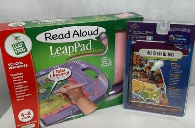£28.75 • Buy Leap Pad Read Aloud Plus Microphone Leap Frog Learning System 2 Book 3 Cartridge