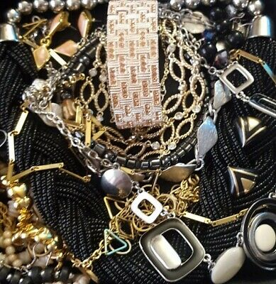$ CDN31.09 • Buy Vintage Now Unsearched Untested Junk Drawer Jewelry Lot Estate All Wear L340
