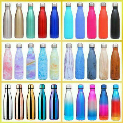 AU21.29 • Buy Stainless Steel Water Bottle Thermos Vacuum Insulated Double Wall Drink Flask AU
