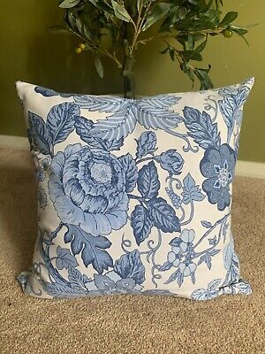 AU50 • Buy Hamptons Cushion Pillow Scatter Covers Made In Australia, Blue Floral