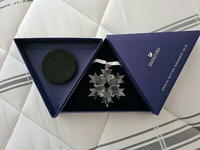 SWAROVSKI Christmas Annual Edition Star Ornament - 2018 • 37.99£