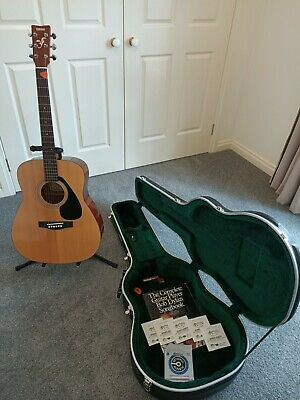AU450 • Buy Guitar Yamaha FG 412 Acoustic 6 Strings, Hard Case, Stand