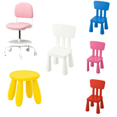 IKEA MAMMUT SERIES Kids Chairs ,Stools ,Desk Chairs Indoor/Outdoor Colour Choice • 21.98£