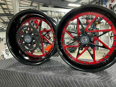 $2899.99 • Buy Gsxr Stock Size Black-red Centers Switchback Wheel 2001-2004 Suzuki Gsxr 1000