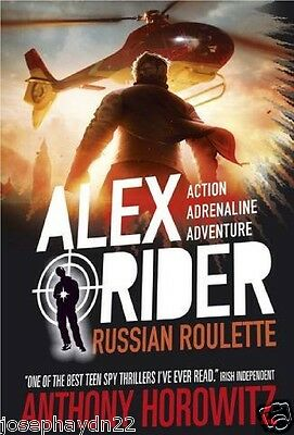 NEW  (10) RUSSIAN ROULETTE - ALEX RIDER Book  Anthony Horowitz NEW COVER • 6.95£