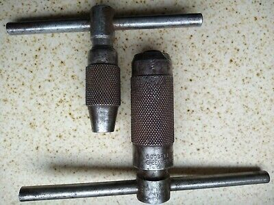 Pair Of Vintage Tap Wrenches - Moore & Wright And Goodell-Pratt • 10£