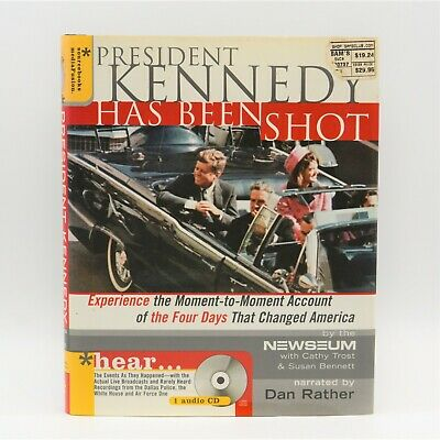 £12.71 • Buy President Kennedy Has Been Shot Newseum Audio CD Narrated By Dan Rather 2003