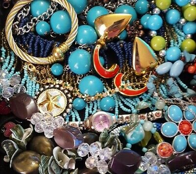 $ CDN29.97 • Buy Vintage Now Unsearched Untested Junk Drawer Jewelry Lot Estate All Wear L346