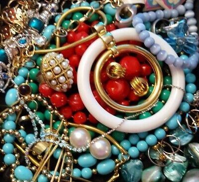 $ CDN31.09 • Buy Vintage Now Unsearched Untested Junk Drawer Jewelry Lot Estate All Wear L350
