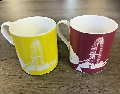 Snowden Flood London Eye China Mug • 8£