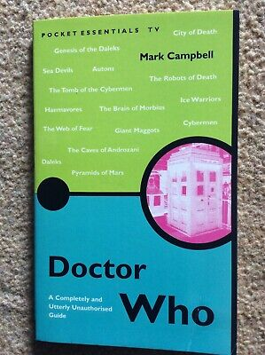 Doctor Who By Mark Campbell (Paperback, 2000) • 1.30£
