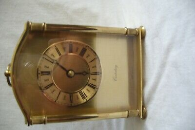 Vintage German Canterbury Brass Quartz Carriage Clock For Repair. • 4.99£