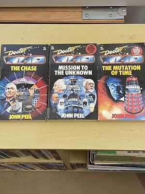 Doctor Who - The Chase & The Dalek Masterplan 1 & 2 - Target Paperback • 39.99£