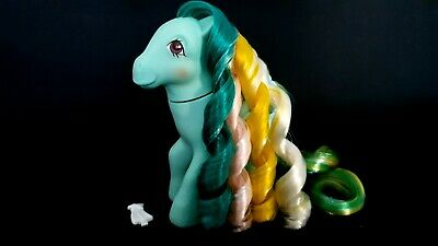 AU28 • Buy Braided Beauty Brush N Grow G1 Vintage My Little Pony With Barrette