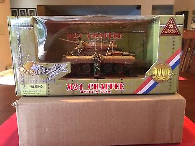 $60 • Buy Ultimate Soldier 1/32 Scale  M24 Chaffee US Tank New Rare Unopened