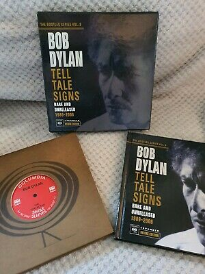 Bob Dylan The Bootleg Series Volume 8 Tell Tale Signs Deluxe Expanded Edition • 295£