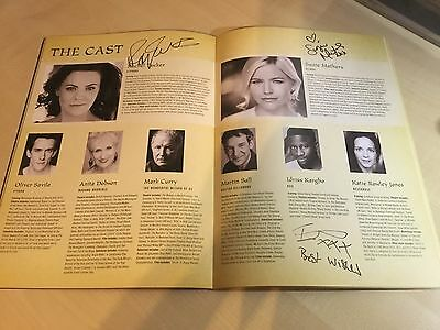Wicked The Musical SIGNED London Programme 2016/17, 10th Anniversary Cast • 40£