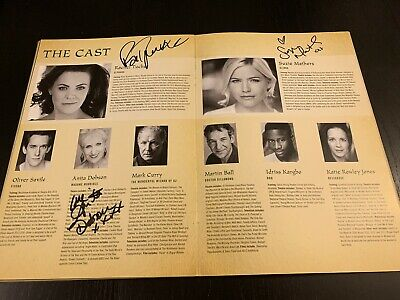 Wicked The Musical Signed Programme Rachel Tucker, Suzie Mathers, Anita Dobson • 65£