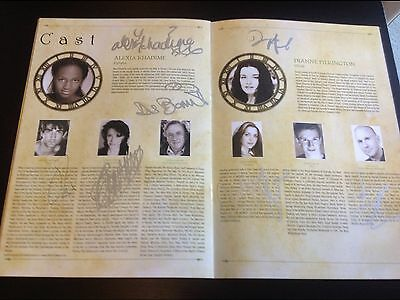 Wicked The Musical SIGNED Programme. London Cast 2008 Including Alexia + Dianne. • 45£
