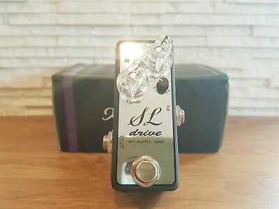XOTIC SL DRIVE Limited Edition Chrome Overdrive Guitar Pedal - Boxed • 105£