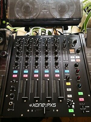 Allen & Heath XONE PX5 Analogue FX DJ Mixer MINT W/ Decksaver & Original Box • 92£
