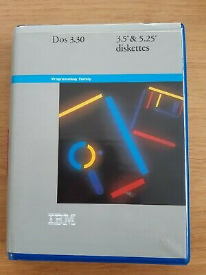 IBM DOS 3.30 - 1x3.5 And 2x5.25  Diskettes - In Original Packaging • 7£