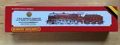 Hornby R357 Patriot Class 5XP 4-6-0  Duke Of Sutherland  LMS Maroon No 5541 • 67.50£