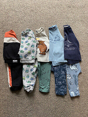 Boys Next, TU Matching Trousers And Top Bundle Age 6-9 Months • 8.50£