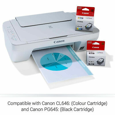 AU74.95 • Buy Canon PIXMA MG2560 3in1 Color Inkjet MFP Printer Copy Scan With Ink Cartridges