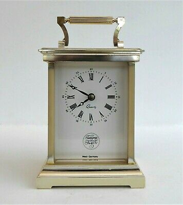 Tempus Fugit Quartz Carriage Clock Made In West Germany • 2.99£