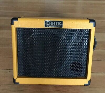 $ CDN229.60 • Buy Crate TX-30 Taxi Amplifier Portable Yellow AMP No Battery Charger Or Cord